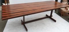 1960s Brazilian Jacaranda Dining Table - 497597