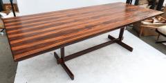 1960s Brazilian Jacaranda Dining Table - 497599
