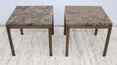 1960s Bronze And Marble Custom Made Side Tables By Cumberland - 2043018