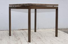 1960s Bronze And Marble Custom Made Side Tables By Cumberland - 2043021