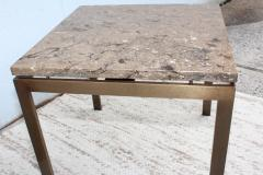 1960s Bronze And Marble Custom Made Side Tables By Cumberland - 2043024
