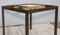 1960s Bronze And Marble Custom Made Side Tables By Cumberland - 2043026