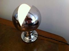 1960s Chrome Eclipse Lamp - 1271952