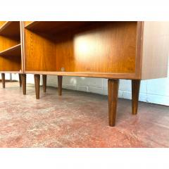 1960s Danish Modern Teak Bookcases a Pair - 1868154