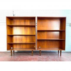 1960s Danish Modern Teak Bookcases a Pair - 1868155