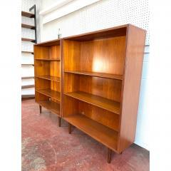 1960s Danish Modern Teak Bookcases a Pair - 1868156
