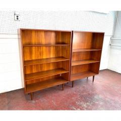 1960s Danish Modern Teak Bookcases a Pair - 1868167