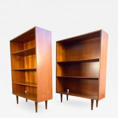 1960s Danish Modern Teak Bookcases a Pair - 1873567