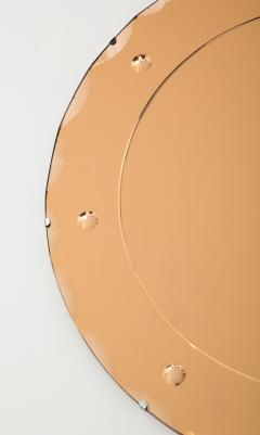 1960s French Peach Color Mirror - 1285024