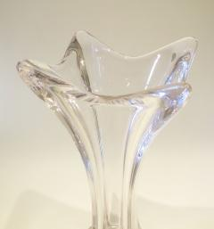 1960s French tall glass vase - 1240554