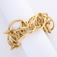 1960s Gold Chain Necklace and Bracelet - 1152082
