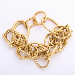 1960s Gold Chain Necklace and Bracelet - 1152087