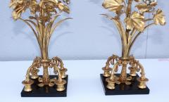 1960s Grape Vine Gilt Tall Table Lamps - 1943096