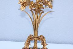 1960s Grape Vine Gilt Tall Table Lamps - 1943106