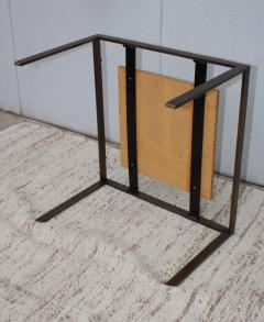 1960s Mid Century Modern Bronze And Marble Custom Made Coffee Table - 2046087