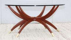 1960s Mid Century Modern Spider Base Coffee Table - 2027889