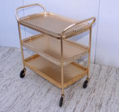 1960s Mid Century Tier Bar Cart From England By Kaymet - 1903219