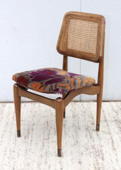 1960s Modern Dining Chairs With Jack Lenor Larsen Fabric - 1988193