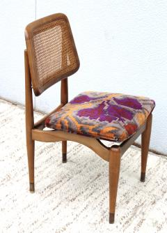 1960s Modern Dining Chairs With Jack Lenor Larsen Fabric - 1988196