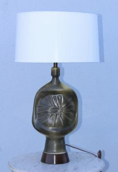 1960s Modernist French Pottery Table lamp - 765793
