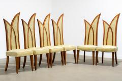 1960s Palm Form Dining Chairs Set of 6 - 2037942