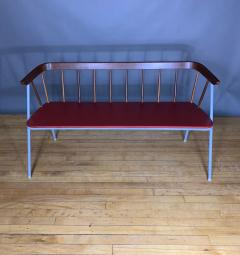 1960s Pinnsoffa Settee by Bj rnums Sl jdfabrik Sweden - 1374788