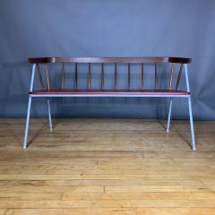 1960s Pinnsoffa Settee by Bj rnums Sl jdfabrik Sweden - 1374789