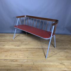 1960s Pinnsoffa Settee by Bj rnums Sl jdfabrik Sweden - 1374790