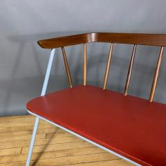 1960s Pinnsoffa Settee by Bj rnums Sl jdfabrik Sweden - 1374791