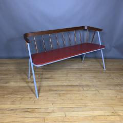 1960s Pinnsoffa Settee by Bj rnums Sl jdfabrik Sweden - 1374793