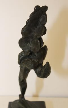 1960s Signed Bronze Abstract Sculpture - 1081071