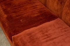 1960s Skyline Design Velvet Sectional Sofa - 2037934