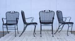1960s Wire Mesh Outdoor Armchairs - 1943436