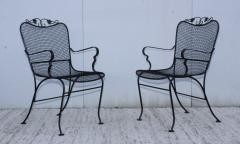 1960s Wire Mesh Outdoor Armchairs - 1943437