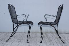 1960s Wire Mesh Outdoor Armchairs - 1943438