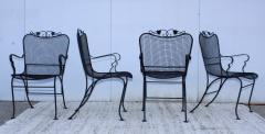 1960s Wire Mesh Outdoor Armchairs - 1943439