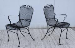 1960s Wire Mesh Outdoor Armchairs - 1943440