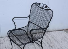 1960s Wire Mesh Outdoor Armchairs - 1943444
