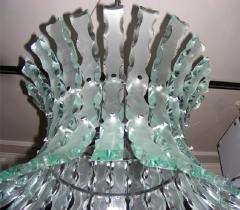 1960s chandelier by Quattrozero - 909543