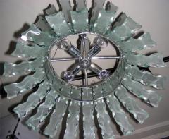 1960s chandelier by Quattrozero - 909544