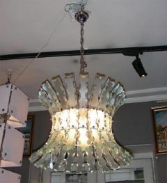 1960s chandelier by Quattrozero - 909547