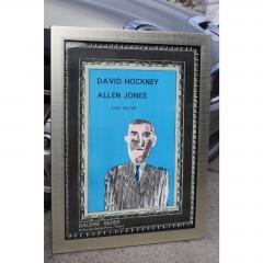 1966 Vintage David Hockney Galerie Sedar Exhibition Poster - 1893673