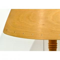 1970 French Vintage Birch Wood and Acrylic Table Lamp for Barcelona Hilton Hotel - 1487671