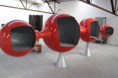 1970 Rare Important Space Age Sideboard - 1645777