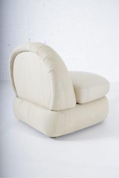 1970 s Stacked Pouf Slipper Chairs - 1509277