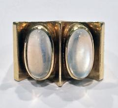 1970s 18K Moonstone Abstract Ring - 1220378