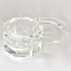 1970s American faceted Lucite ice bucket by Kaplan - 1469744