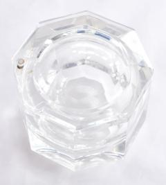 1970s American faceted Lucite ice bucket by Kaplan - 1469750