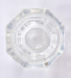1970s American faceted Lucite ice bucket by Kaplan - 1469751