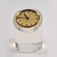 1970s American lucite clock - 1240559